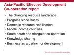 asia pacific effective development co operation report1