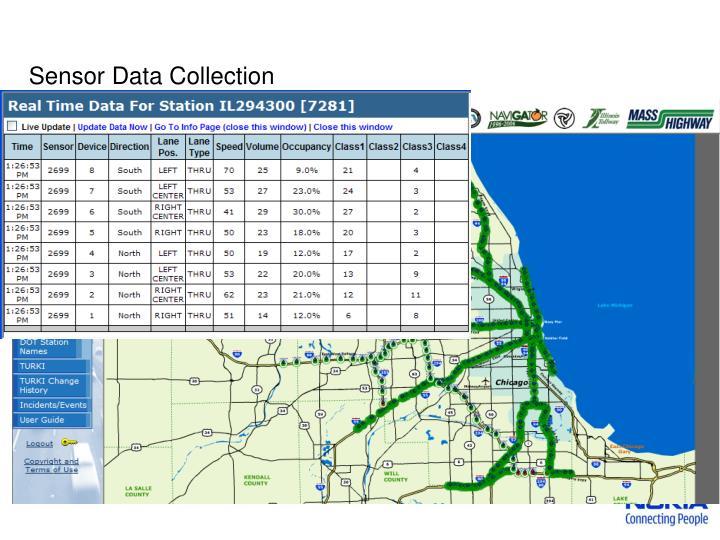 Sensor data collection