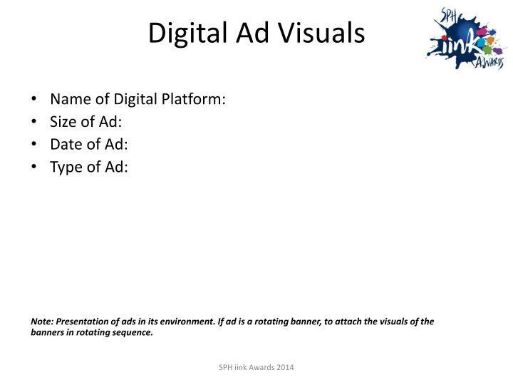 Digital Ad Visuals