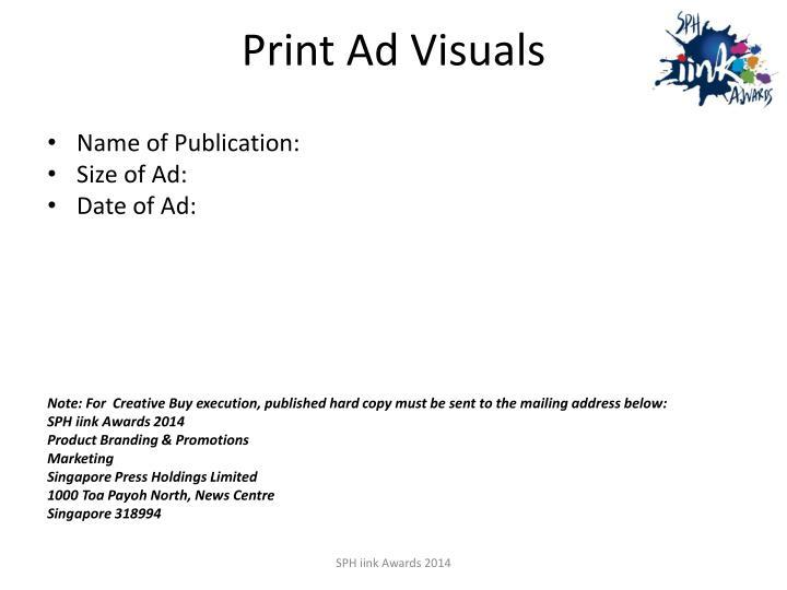 Print Ad Visuals
