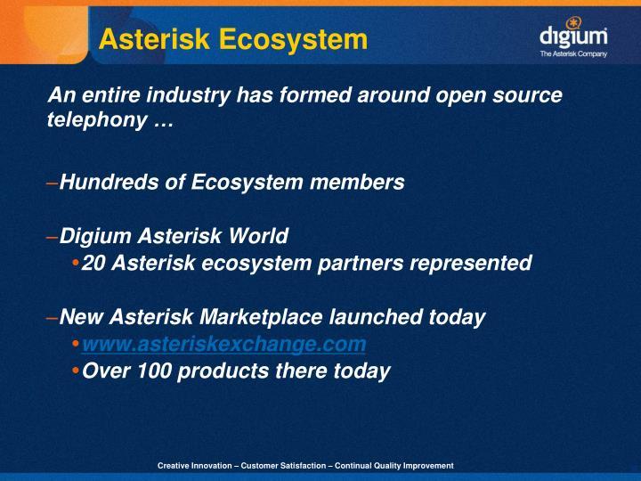 Asterisk Ecosystem