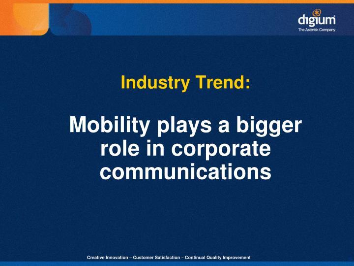 Industry Trend: