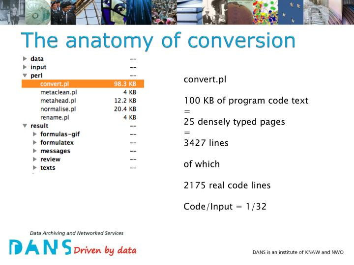 The anatomy of conversion