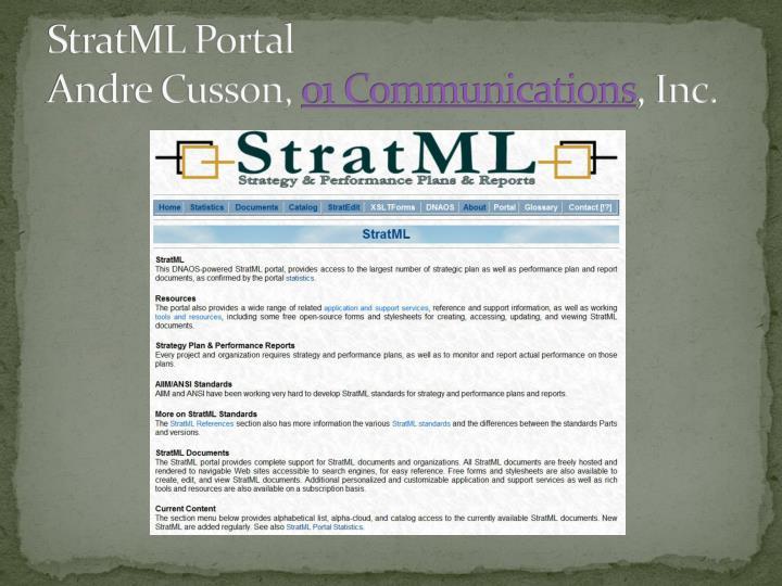 StratML Portal
