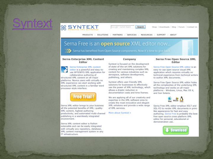 Syntext