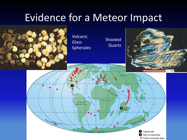 Evidence for a Meteor Impact