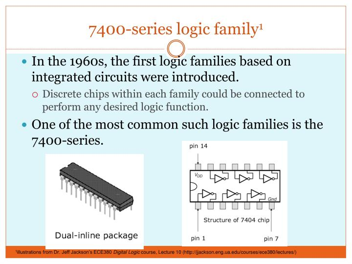 7400-series logic family