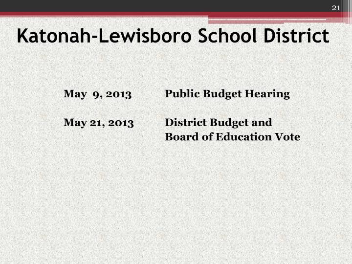 Katonah-Lewisboro School District