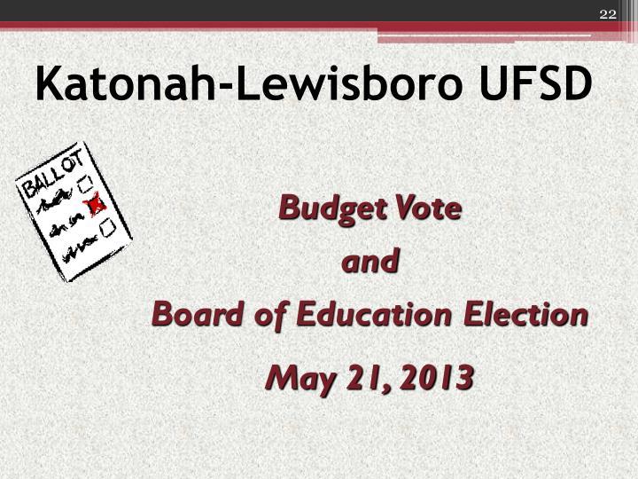 Katonah-Lewisboro UFSD