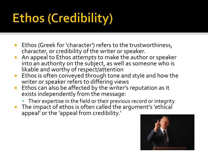 Ethos (Credibility)