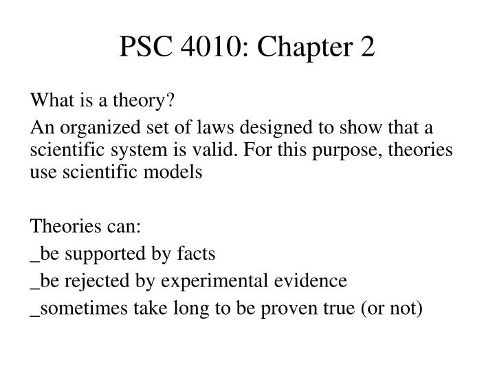 Psc 4010 chapter 21