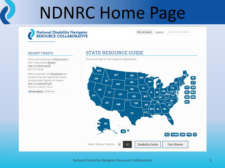NDNRC Home Page
