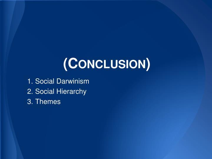 (Conclusion)