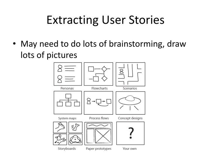 Extracting User Stories