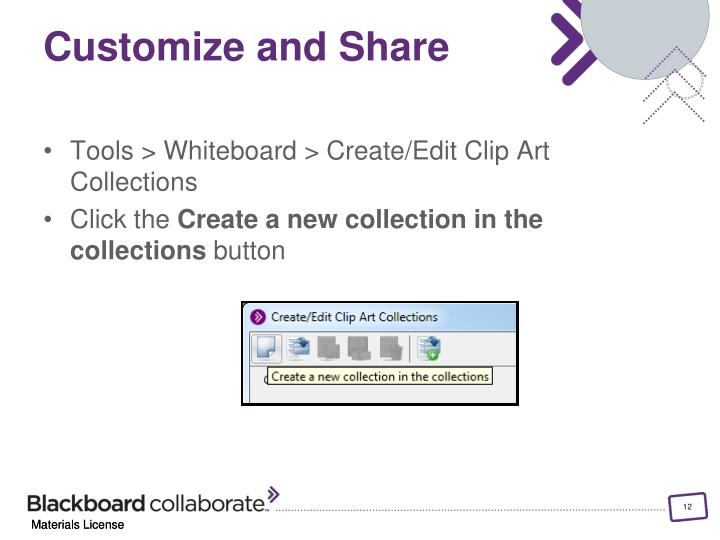 Customize and Share