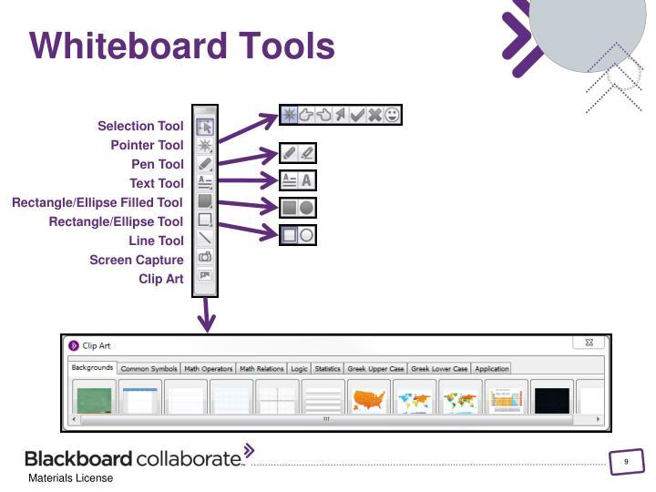 Whiteboard Tools