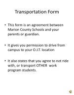 transportation form1