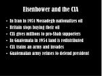 eisenhower and the cia