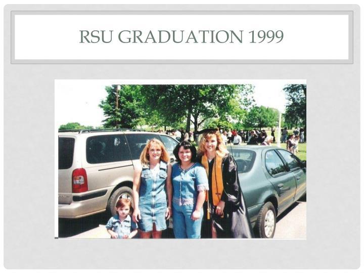 Rsu graduation 1999
