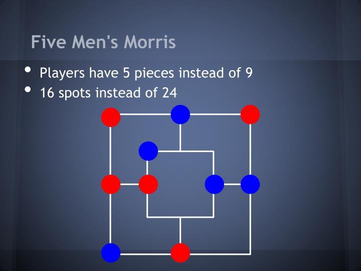 Five Men's Morris