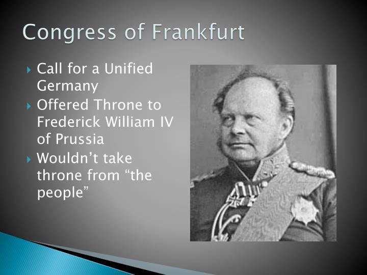 Congress of Frankfurt