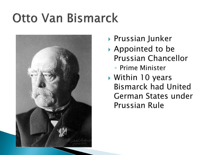 Otto Van Bismarck
