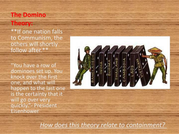 The Domino Theory: