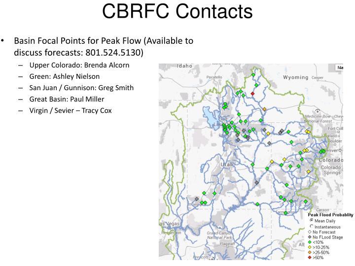 CBRFC Contacts