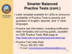 smarter balanced practice tests cont