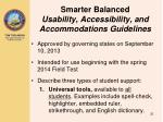 smarter balanced usability accessibility and accommodations guidelines