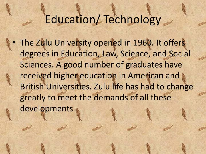 Education/ Technology