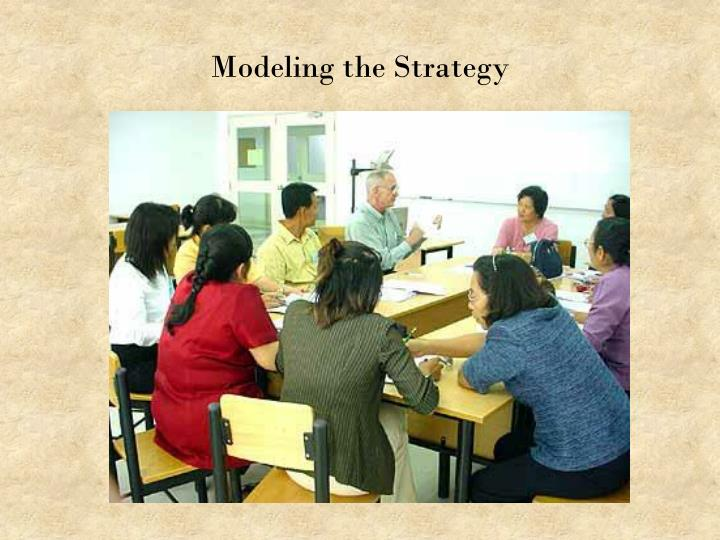 Modeling the Strategy