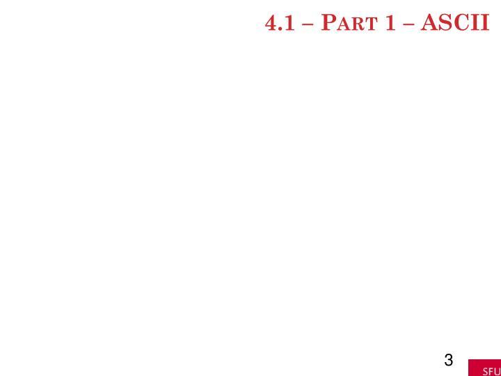 4 1 part 1 ascii