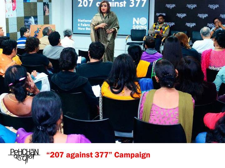 """207 against 377"" Campaign"