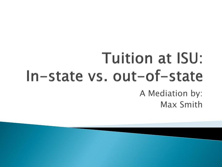 tuition at isu in state vs out of state n.