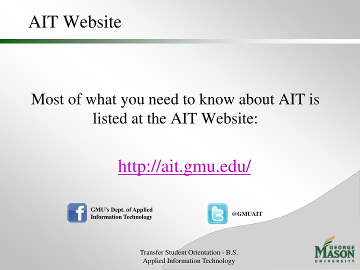 Ait website