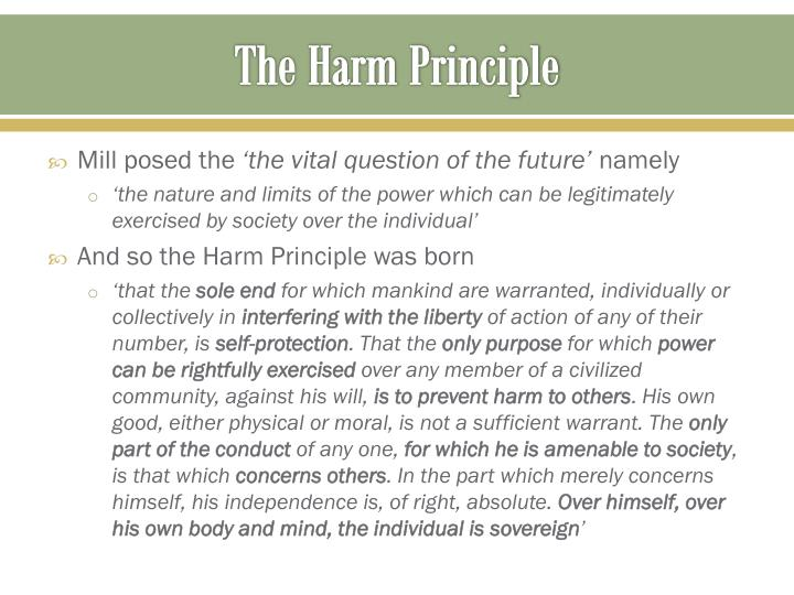 The harm principle