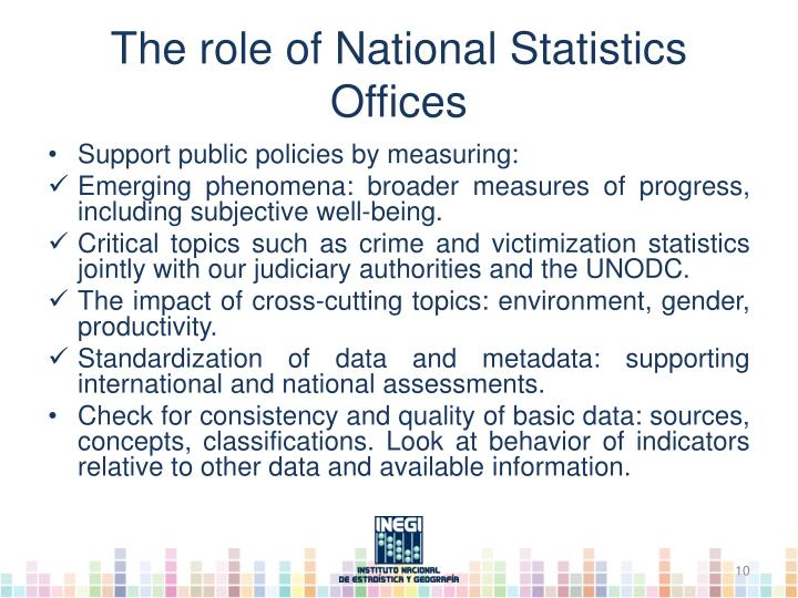 The role of National
