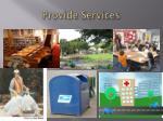 provide services