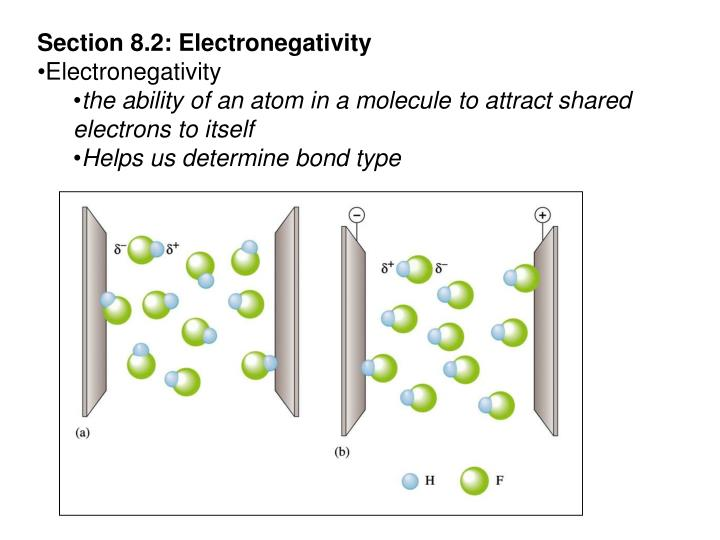 Section 8.2: Electronegativity