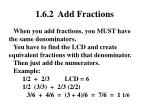 1 6 2 add fractions