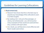 guidelines for learning collocations1