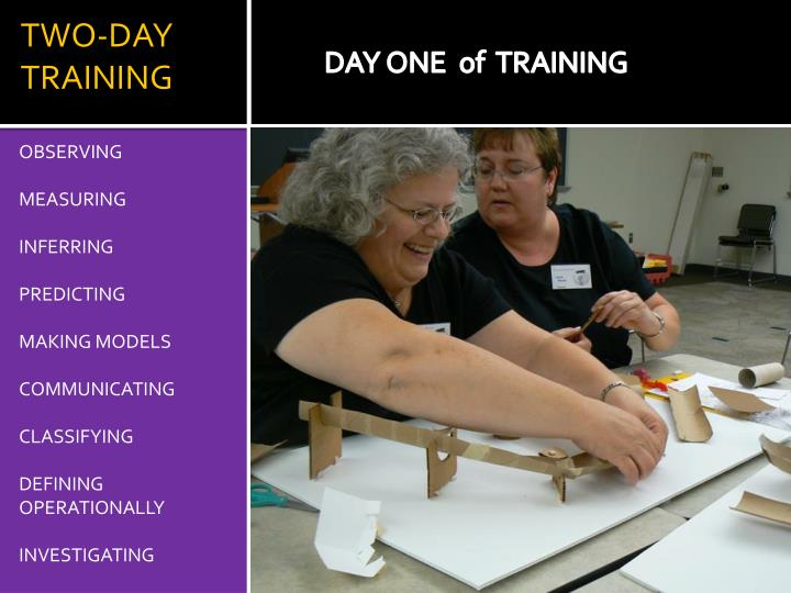 TWO-DAY TRAINING