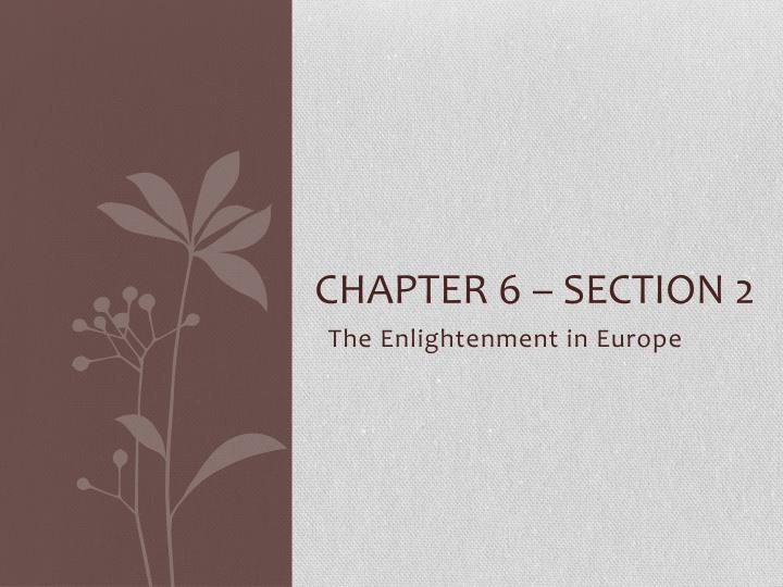 chapter 6 section 2 n.