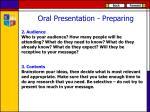 oral presentation preparing1