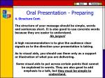oral presentation preparing3