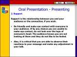 oral presentation presenting1