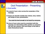 oral presentation presenting3