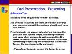 oral presentation presenting5