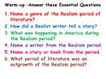 warm up answer these essential questions1